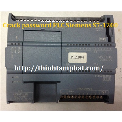 Crack password PLC Siemens S7-1200