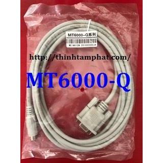 Cáp kết nối HMI MT6000 với PLC Mitsubishi Q. MT6000-Q