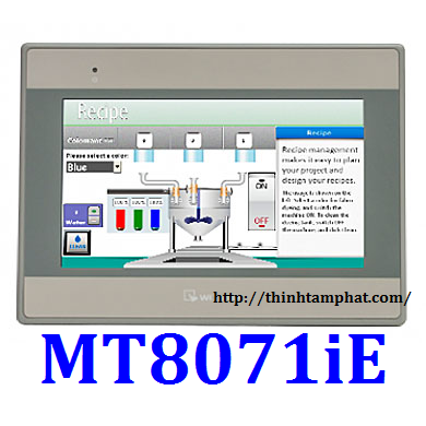 Màn hình HMI Weintek MT8071iE  Man hinh HMI Weintek MT8071iE