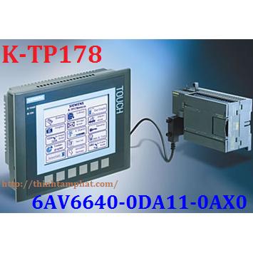 K-TP178 6AV6 640-0DA11-0AX0 - HMI Siemens KTP178 6AV66400DA110AX0