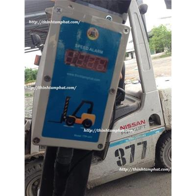 Lắp đặt bộ cảnh báo tốc độ xe nâng cho Cargill Việt Nam tại Long An