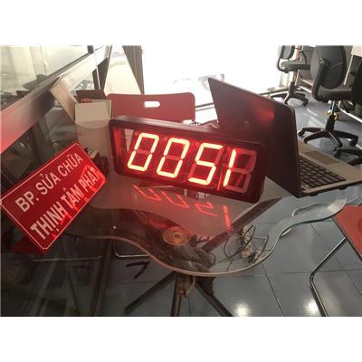 Hệ thống giám sát nhiệt độ, độ ẩm, tốc độ, số lượng sản phẩm bằng đèn LED 7 đoạn
