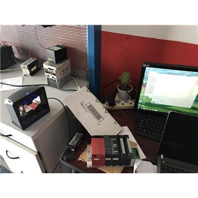 Hệ thống máy đọc mã vạch đa tia ứng dụng trong công nghiệp