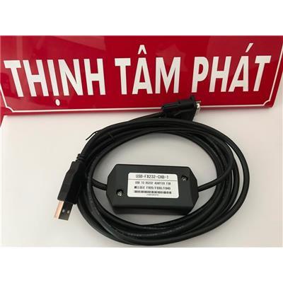 Cáp lập trình PLC Mitsubishi USB-FX232-CAB-1 dùng cho PLC F920/F930/F940.  Cap lap trinh PLC Mitsubishi USB-FX232-CAB-1 dung cho PLC F920/F930/F940.
