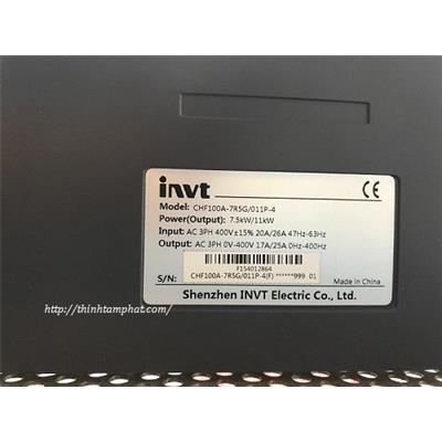 Sửa biến tần INVT CHF100A