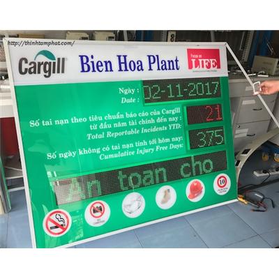 Bảng điện tử led ngoài trời hiển thị thông tin cho công ty Cargill VN  Bang dien tu led ngoai troi hien thi thong tin cho cong ty Cargill VN