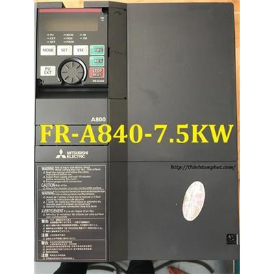 Sửa chữa biến tần Mitsubishi FR-A840-7.5K cháy công suất