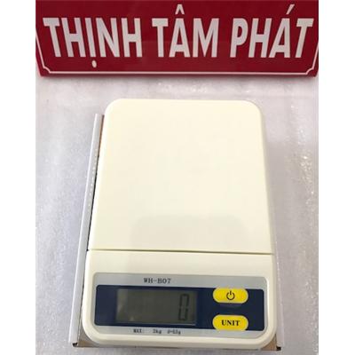 Cân bếp điện tử 3kg WH-B07