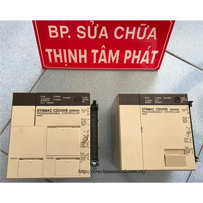 Sửa PLC Omron Sysmac C200HS