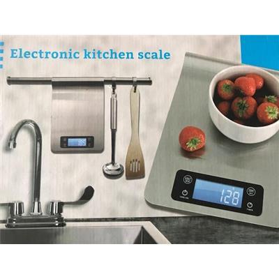 Cân nhà bếp điện tử cân ml, đo nhiệt độ, hẹn giờ