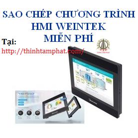 Sao chép chương trình màn hình HMI Weintek miễn phí  Sao chep chuong trinh man hinh HMI Weintek mien phi