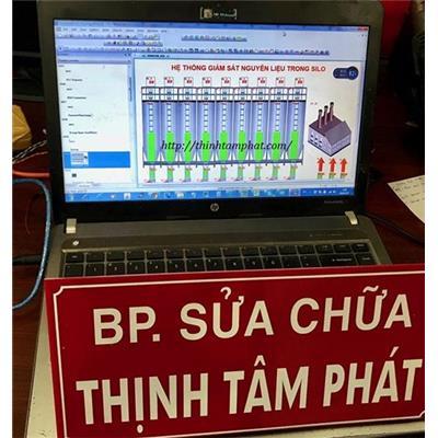 Lập trình màn hình HMI Weinview cho hệ thống giám sát bồn chứa nguyên liệu