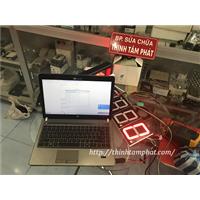 Hệ thống giám sát nhiệt độ, độ ẩm, tốc độ, số lượng bằng đèn LED 7 đoạn hoặc LED ma trận