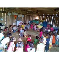 Chương trình từ thiện đến với các con vùng cao Sảng Mộc - Võ Nhai ngày 1.11.2015