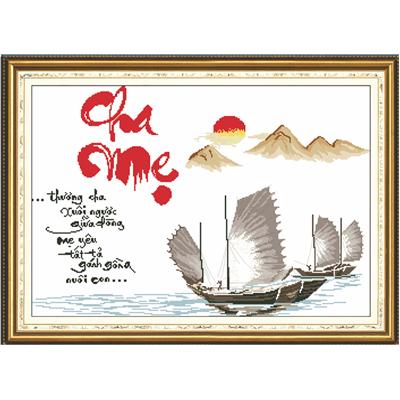 TRANH CHA MẸ - 8005