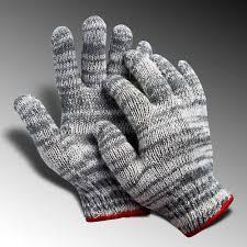 Găng tay len màu muối tiêu