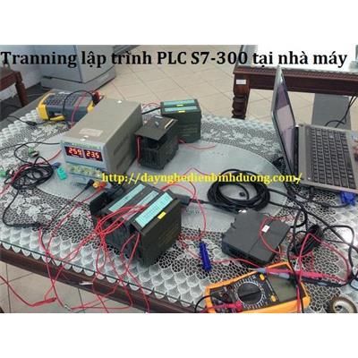 Training lập trình PLC Siemens S7-300 tại nhà máy Huhtamaki