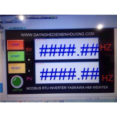 Lớp lập trình màn hình cảm ứng Weintek-Weinview