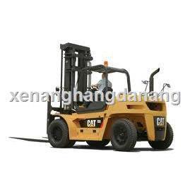 Xe nâng hàng đã qua sử dụng-xe nâng hàng cũ chạy dầu CAT 1.5 tấn – 3.5 tấn
