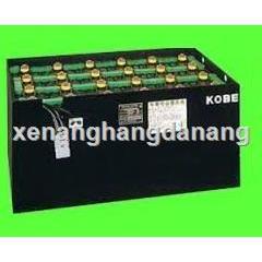 Bình điện xe nâng hàng KOBE  Binh dien xe nang hang KOBE