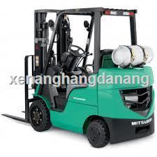 Xe nâng hàng chạy xăng gas Mitsubishi