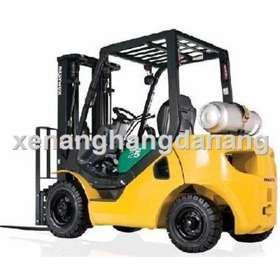 Xe nâng hàng chạy xăng gas Komatsu