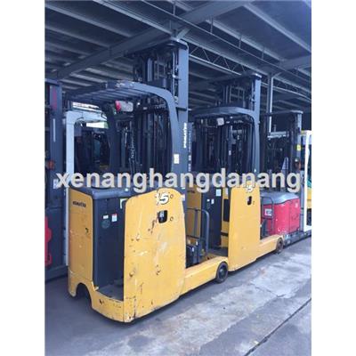 Xe nâng điện 1,5 tấn hãng Komatsu  Xe nang dien 1,5 tan hang Komatsu