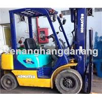 Xe nâng hàng đã qua sử dụng-xe nâng hàng cũ chạy dầu Komatsu 2 tấn
