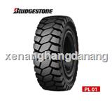 Lốp đặc xe nâng hàng – vỏ đặc xe nâng hàng hiệu Bridgestone