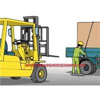 Cách vận hàng xe nâng hàng an toàn– P23