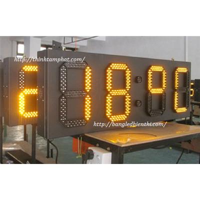 Bảng led hiển thị nhiệt độ 10 inch màu vàng