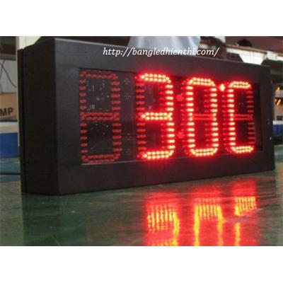 Bảng led điện tử hiển thị nhiệt độ độ ẩm