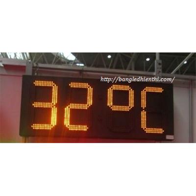 Bảng led hiển thị nhiệt độ 20 inch màu vàng