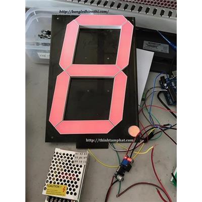 Bảng led hiển thị số thứ tự máy đang hoạt động
