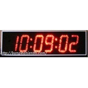 Đồng hồ led đếm ngược led màu đỏ 6 số 10 inch
