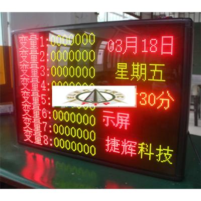 Bảng led ma trận công nghiệp kết nối ModBus RTU hiển thị thông số tùy chỉnh