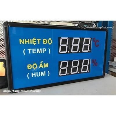 Bảng led hiển thị nhiệt độ độ ẩm 3inch thiết kế theo yêu cầu