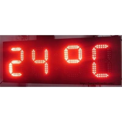 Bảng led hiển thị nhiệt độ bằng led 7 đoạn 8 inch