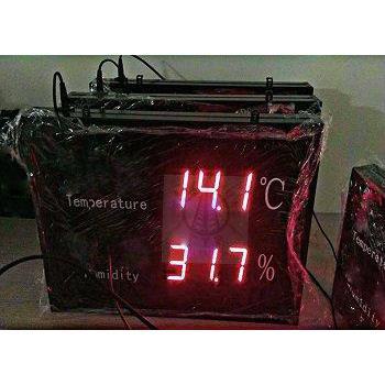 Bảng led điện tử hiển thị nhiệt độ độ ẩm độ phân giải cao