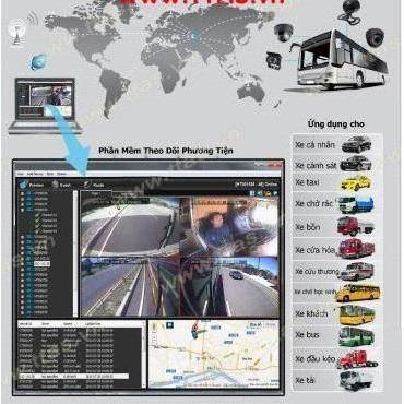 Camera 3G theo dõi trực tuyến cho xe