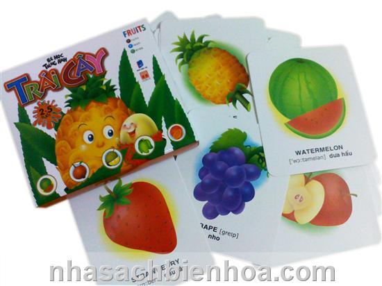 Bé học tiếng Anh: Trái cây