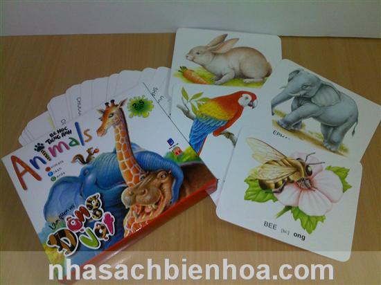 Bé học tiếng Anh: Động vật