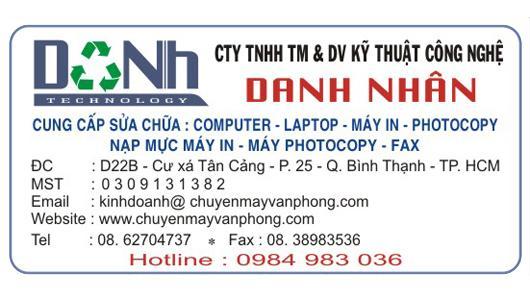 CÔNG TY TM & DV DANH NHÂN