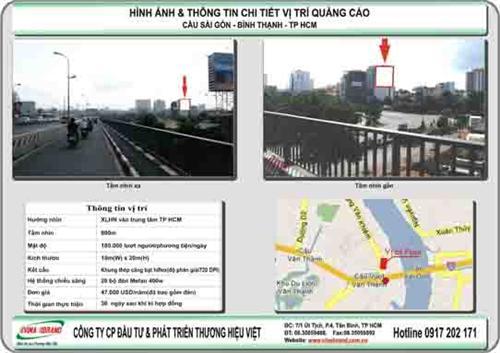 Pano ốp tường chân cầu Sài Gòn, Q.Bình Thạnh, Tp HCM  Pano op tuong chan cau Sai Gon, Q.Binh Thanh, Tp HCM