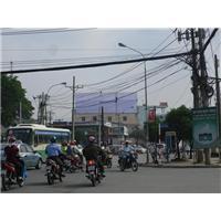 Pano (billboard) tại ngã 5 Gò Vấp - VINA BRAND