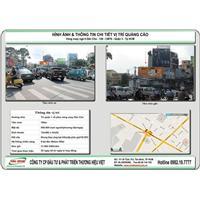 bảng quảng cáo tại trung tâm Tp HCM - Vòng xoay ngã 6 Dân Chủ - Quận 3