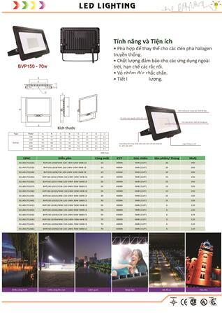 Đèn pha LED 50w - 70w Philips  Den pha LED 50w - 70w Philips