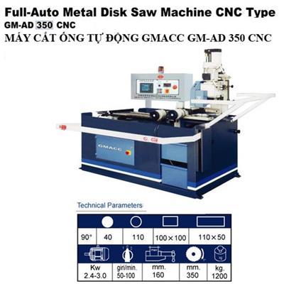 MÁY CẮT ÔNG TỰ ĐỘNG GMACC GM-AD 350 CNC
