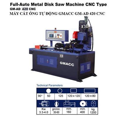 MÁY CẮT ỐNG TỰ ĐỘNG GM-AD 420 CNC