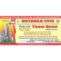 Thư mời tham quan triển lãm VIETBUILD 2015 tại TP. Hồ Chí Minh